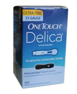 Onetouch-delica-lancets-100-count-33-gauge