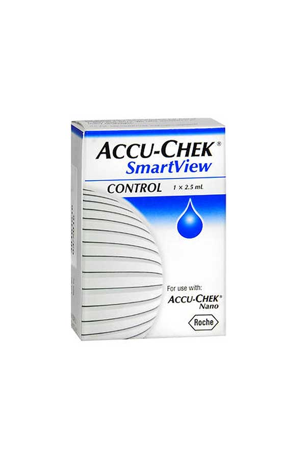ACCU-CHEK SMARTVIEW PLUS CONTROL SOLUTION 1 2.5mL
