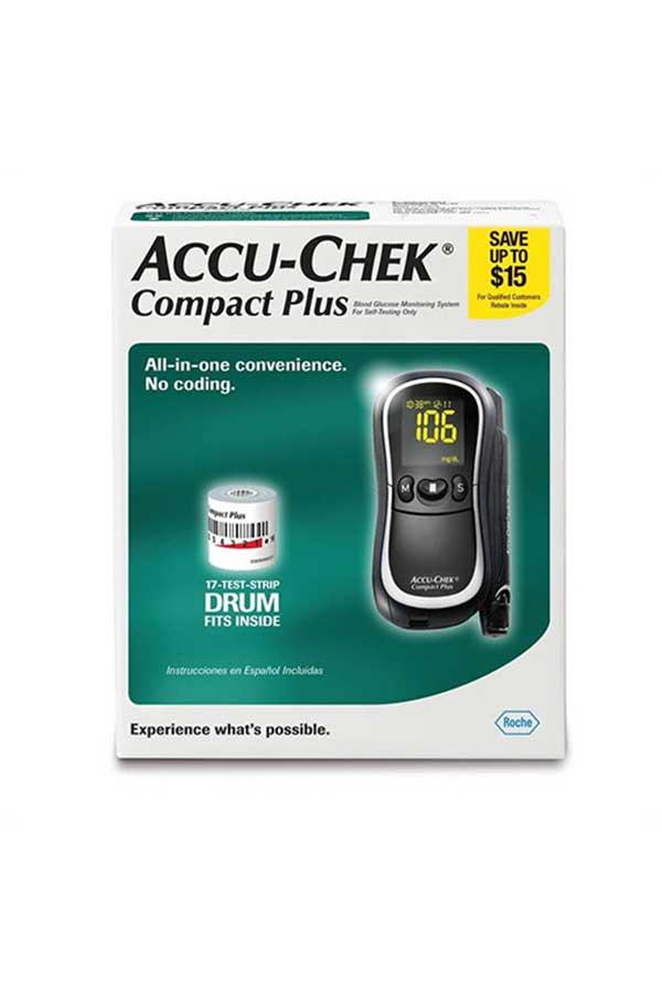 ACCU-CHEK COMPACT PLUS GLUCOSE MONITORING SYSTEM