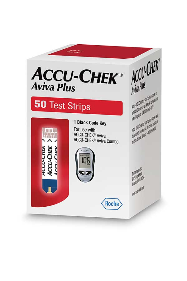 ACCU-CHEK AVIVA PLUS TEST STRIPS 50ct.