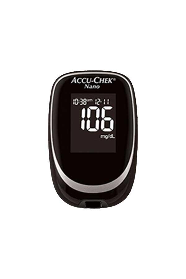 Accu Chek Nano Glucose Meter Diabetic Plaza