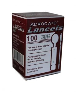 ADVOCATE THIN LANCETS 100ct. 30G