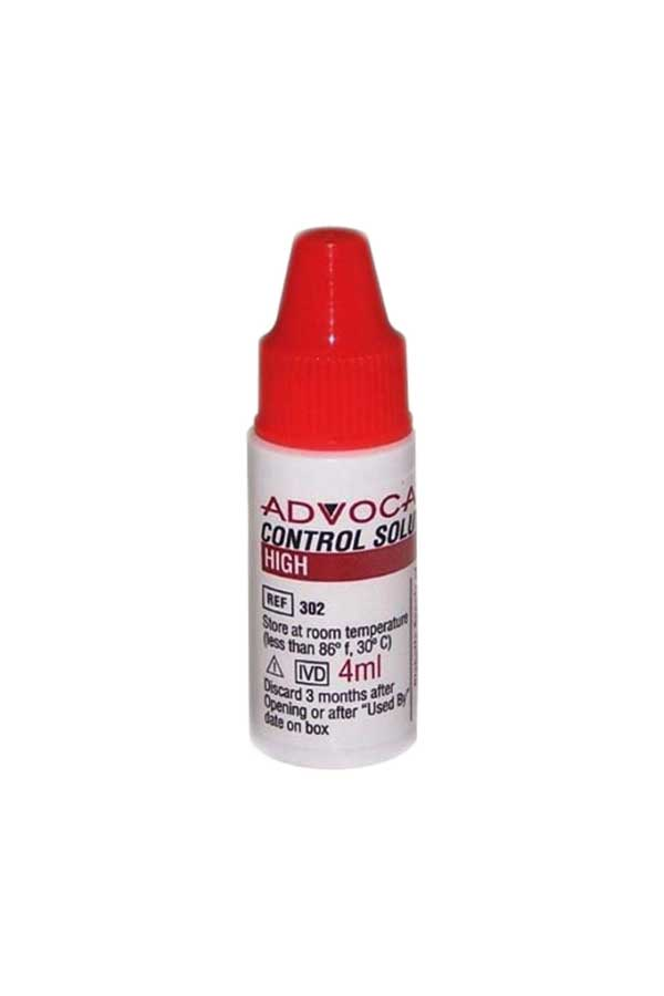 ADVOCATE REDI-CODE CONTROL SOLUTION HIGH 4ml