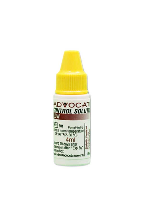ADVOCATE REDI-CODE CONTROL SOLUTION LOW 4ml