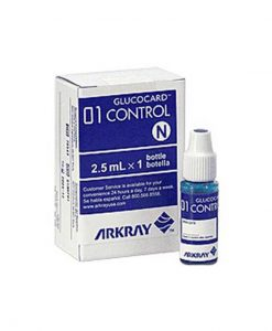 ARKRAY GLUCOCARD 01 CONTROL SOLUTION NORMAL LEVEL 2.5mL