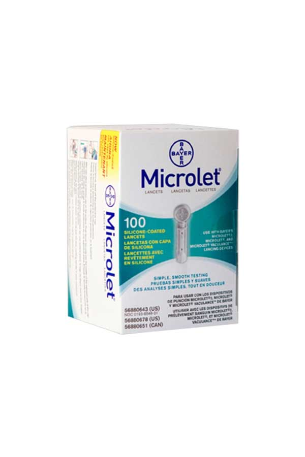 BAYER MICORLET LANCETS 100ct.