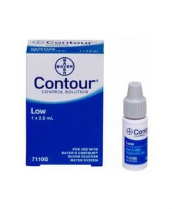BAYER CONTOUR CONTROL SOLUTION LOW LEVEL