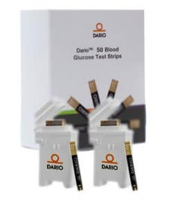 DARIO TEST STRIPS 50ct. (2 Cartridges)