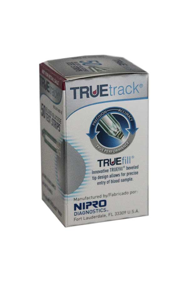 NIPRO TRUETRACK TEST STRIPS 50ct.