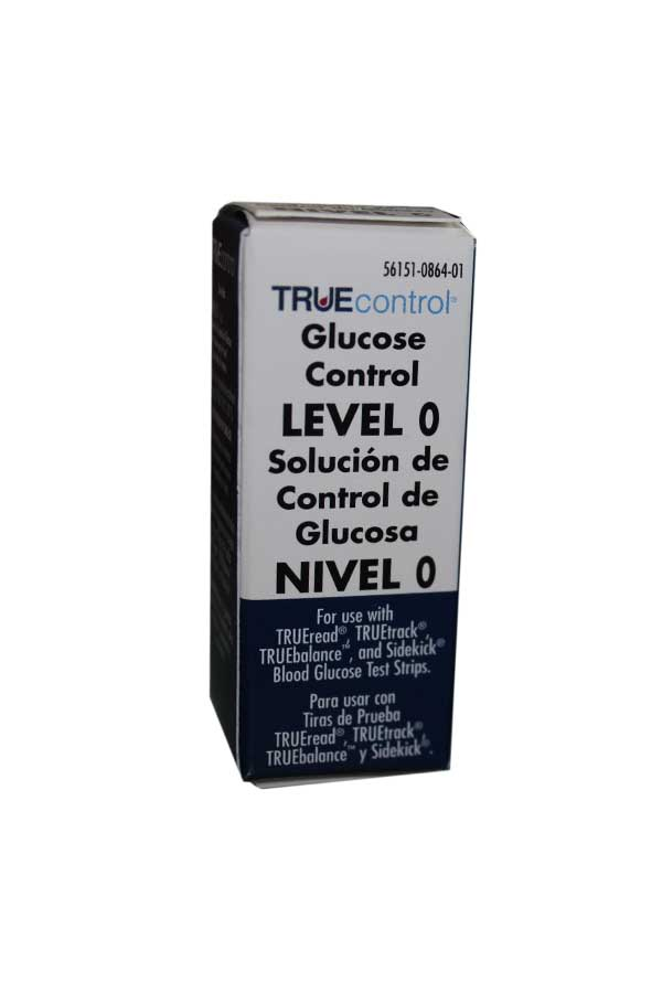 NIPRO TRUECONTROL GLUCOSE CONTROL SOLUTION LEVEL 0 (LOW)