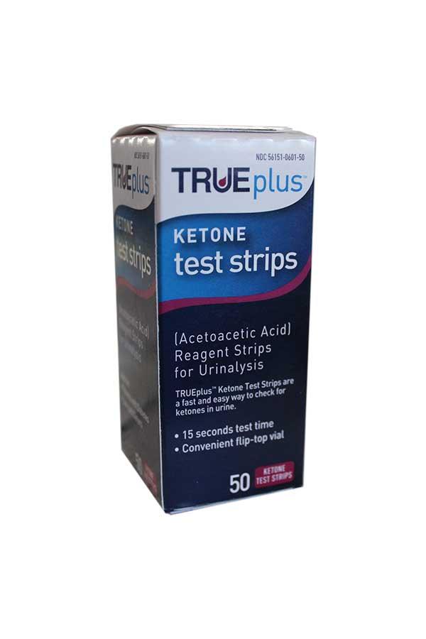 TRUEPLUS KETONE TEST STRIPS 50ct.