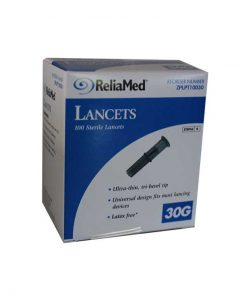 RELIAMED UNIVERSAL PULL TOP LANCETS 100ct. 30G