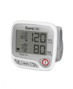 SURELIFE PREMIUM WRIST BLOOD PRESSURE MONITOR (TALKING)