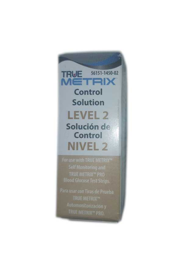 NIPRO TRUE METRIX CONTROL SOLUTION LEVEL 2 (MEDIUM)
