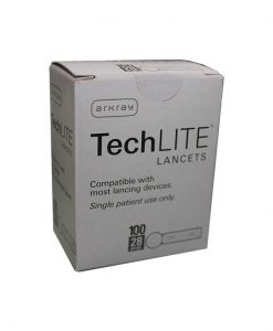 ARKRAY TECHLITE LANCETS 100ct.