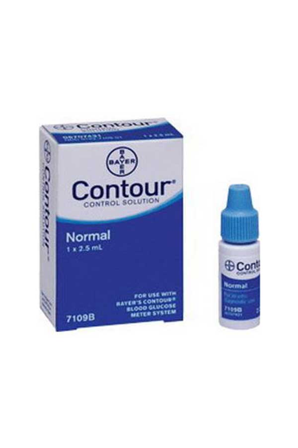 BAYER CONTOUR CONTROL SOLUTION NORMAL LEVEL