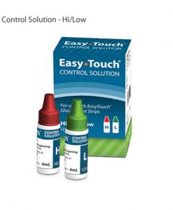 EASYTOUCH CONTROL SOLUTION HIGH & LOW - 2 VIALS