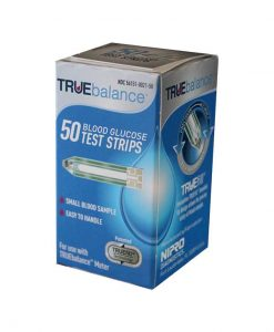 NIPRO TRUEBALANCE TEST STRIPS 50ct.
