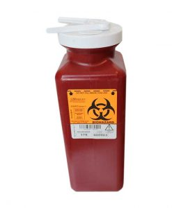 MedeGen-Sharps-Container-1.7-qt-with-Needle-Remover