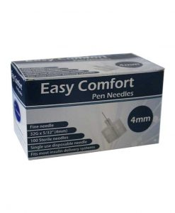 Easy-Comfort-Insulin-Pen-Needles-100-count-32g-5.32-in-4-mm